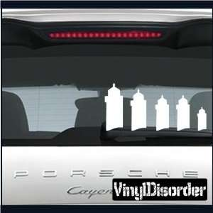 Family Decal Set Lighthouse Stick People Car or Wall Vinyl