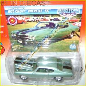 70 CHEVY CHEVROLET CHEVELLE SS MUSCLE CARS DIECAST JOHNNY LIGHTNING JL