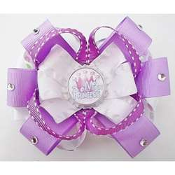 Sweetys Bowtique Miss Princess Bottle Cap Hair Bow