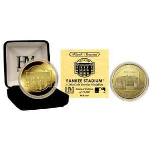 New York Yankees   Yankee Stadium Final Season   24KT Gold