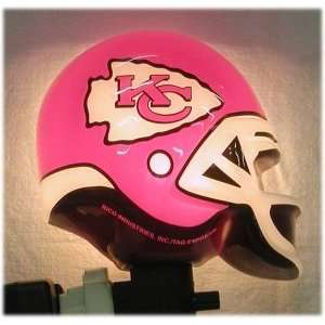NFL Kansas City Chiefs Helmet Shaped Night Light
