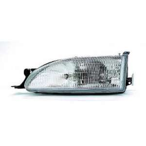 1995 96 TOYOTA CAMRY HEADLIGHT ASSEMBLY, DRIVER SIDE   DOT Certified