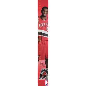 Portland Trailblazers Measure Up Growth Chart