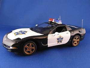1999 Corvette Hardtop   Police FOP Rally LE Version   Franklin Mint