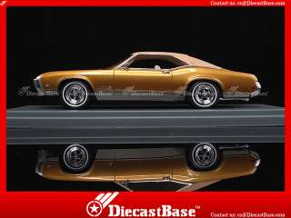44425 NEO Buick Riviera GS Gold Metallic 1969 Resin Road Car 143