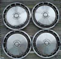 71 73 FORD MUSTANG HUBCAPS CENTER CAPS WHEEL COVERS RIM