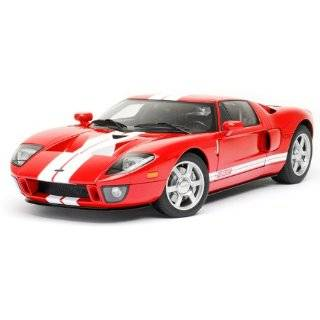 Ford GT Red Diecast Car Model Autoart 112