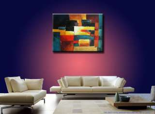 ORIGINAL ABSTRACT 30x40 ART Modern Oil Painting2768