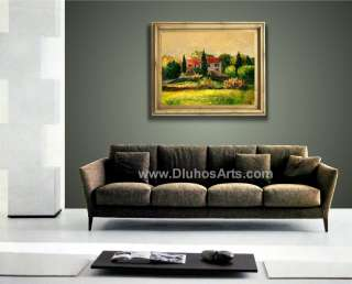 ITALY TUSCANY COUNTRSIDE VILLA 28 ORIGINAL MODERN ART Oil Painting