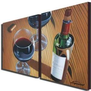 Dinner Party Hand Painted Canvas Art Oil Painting