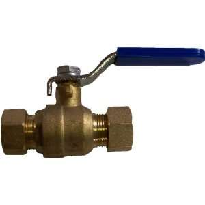 Aviditi 11094 3/4 Inch Ball Valve with Compression Ends