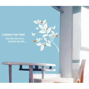 Large  Easy instant decoration wall sticker decor Cherish The Tree