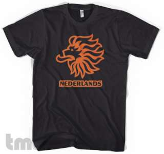 NETHERLANDS World Cup Soccer American Apparel T Shirt