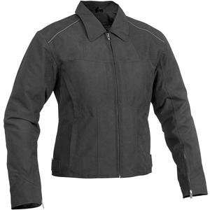 River Road Womens Topaz Jacket   Large/Black Automotive