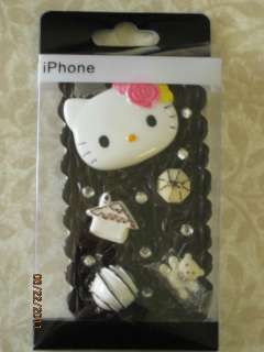 Hello Kitty 3D Rubber Icing & Treats Iphone 4 Cover NEW