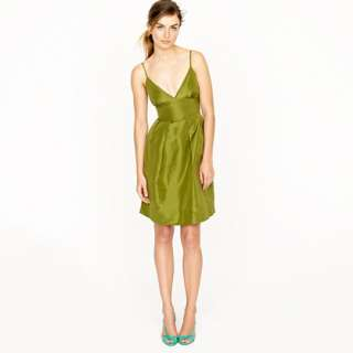Adrienne dress in silk taffeta   Cocktail   Womens dresses   J.Crew