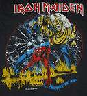 VTG IRON MAIDEN THE NUMBER OF THE BEAST TOUR 82 SHIRT 1980S 1982 M