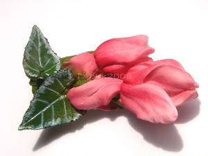 Cyclamen Flower refrigerator resin 3D Fridge Car Magnet