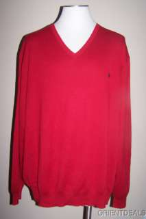 NWT Polo Ralph Lauren Mens The Pima Sweater 3XL TALL
