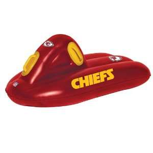 42 NFL Kansas City Chiefs 2 in 1 Inflatable Outdoor Super Sled