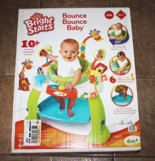 BRIGHT STARTS  BOUNCE BABY BOUNCE  EXERSAUCER ACTIVITY