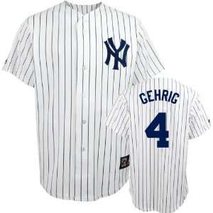 com Lou Gehrig Majestic Cooperstown Throwback New York Yankees Jersey