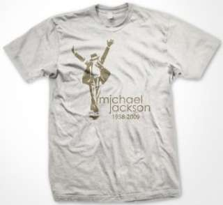 Michael Jackson Memorial T Shirt (Mens and Womens