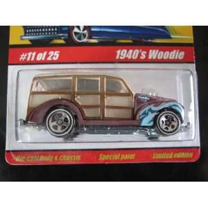 1940s Woodie (Light Purple) 2005 Hot Wheels Classics