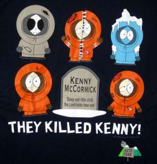 NEW T SHIRT SOUTH PARK Kenny SHIRT size L