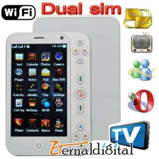 New Unlocked Dual SIM WIFI TV Cell Phone Mobile Game Player  AT&T