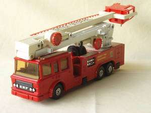 fire engine toy car Matchbox England K 39 Snorkel 1979