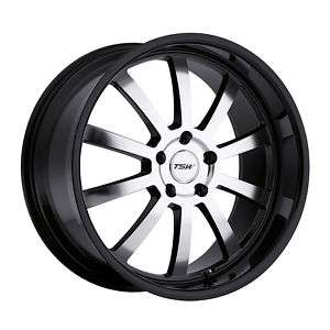19 TSW WILLOW BLACK RIMS WHEELS AUDI A3 A4 QUATTRO S4