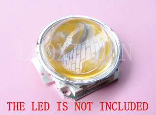 1x 44.5mm LED Lens Reflector with Base for 20 50W Light