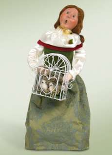 BYERS CHOICE Caroler 12 Twelve DAYS CHRISTMAS ★ 2 Two Turtle Doves