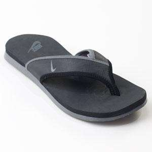 NIKE CELSO THONG PLUS Black Grey 307812 010 Sandal Men