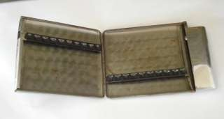 WWII ORIGINAL GERMAN OFFICER'S METAL CIGARETTE CASE