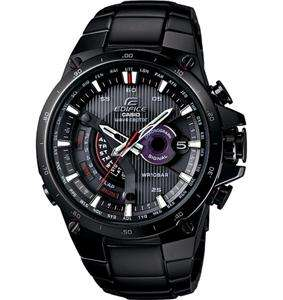 BRAND NEW CASIO EDIFICE BLACK TOUGH SOLAR POWER EQWA1000DC 1A FAST