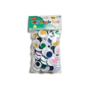 Charles Leonard Inc., Wiggle Eyes, Jumbo Round, Assorted