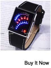OHSEN 7 Color LED Digital Analog Lady Men Quartz Watch