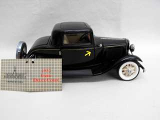 Franklin Mint Collectible Die Cast Classic Car 1932 Ford Deuce Coupe
