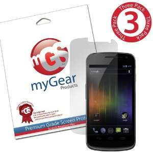 Screen Protector Film for Samsung Galaxy Nexus   (3 Pack) Anti Glare