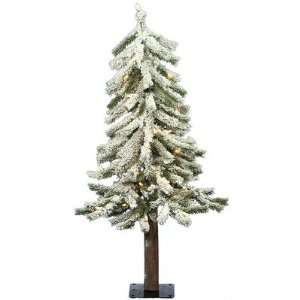 Alpine 24 Artificial Christmas Tree with Clear Lights