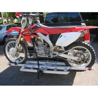 Dirt Bike Carrier Trailer SUV RV Hauler Rack with Ramp Automotive