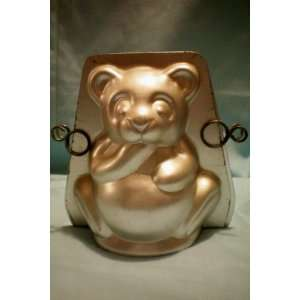 Mini Stand Up Bear Cake Pan with Instructions for Baking & Decorating