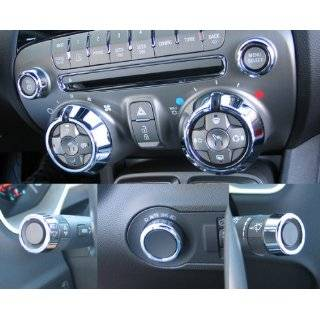 Chevy Camaro Accessories 7pc Chrome Billet Dash Knob Kit. 2010, 2011