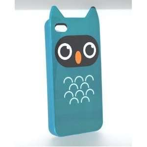 Cute Owl Design Soft Silicone Tpu Skin Gel Cover Case for