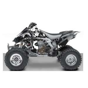 Kawasaki KFX450R Destroyer ATV Graphic Kit (White/Black