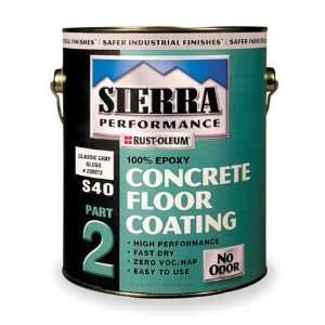 RUST OLEUM 208072 Floor Coating,1 gal,Classic Gray