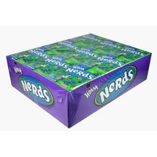 Nerds Watermelon/Fruit Punch 36 Packs  Grocery & Gourmet