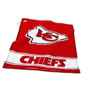 NFL Kansas City Chiefs Woven Golf Towel